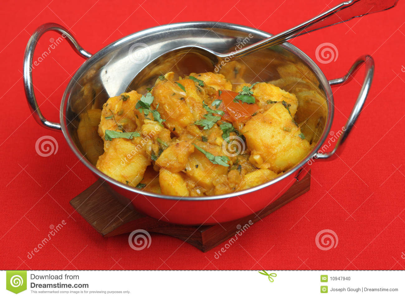Curry dish indian vegetable