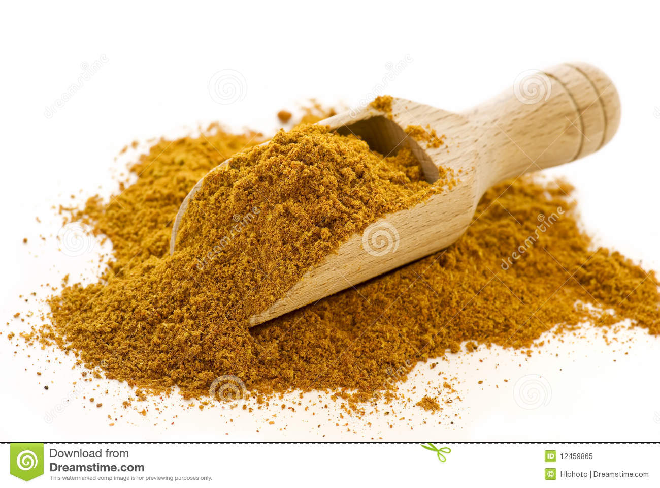 Curry Powder Royalty Free Stock Photo - Image: 12459865