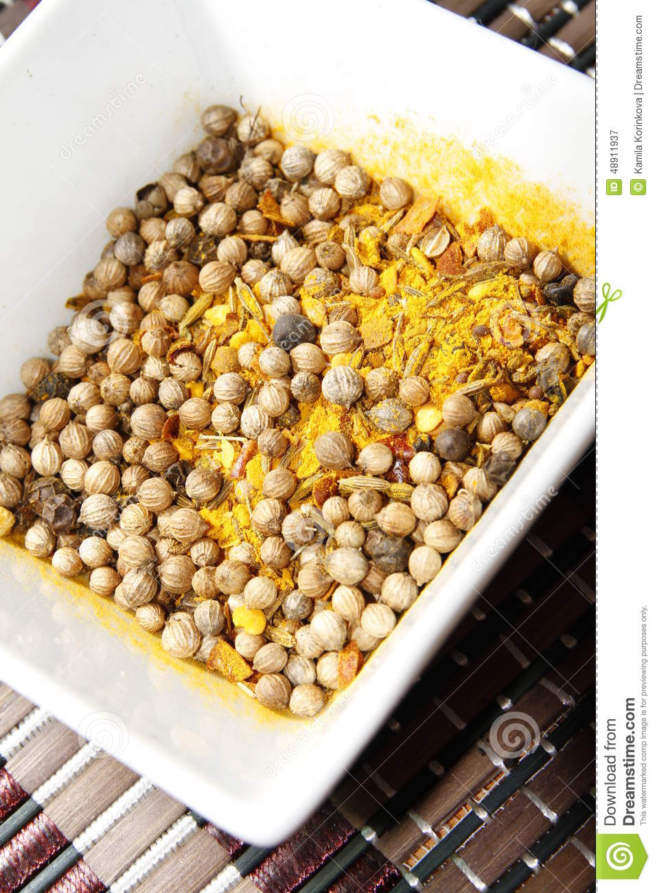 how to make curry spice blend