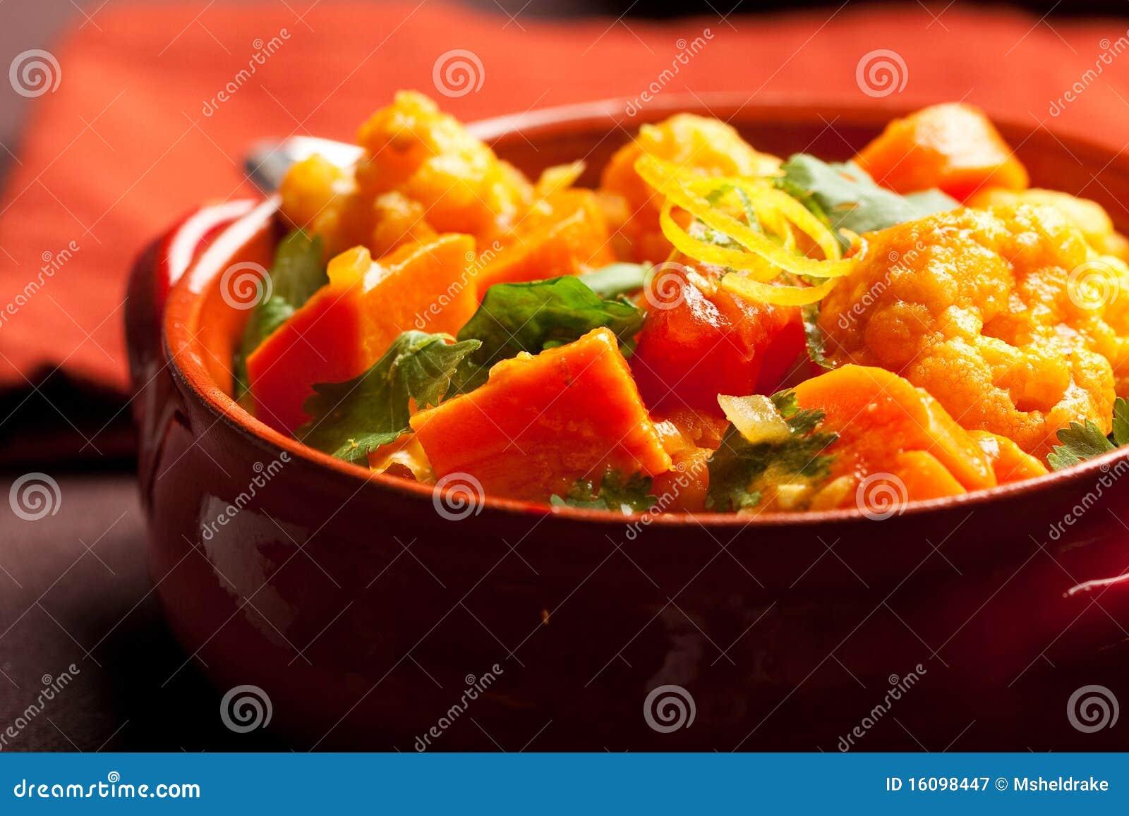 Currygrönsak