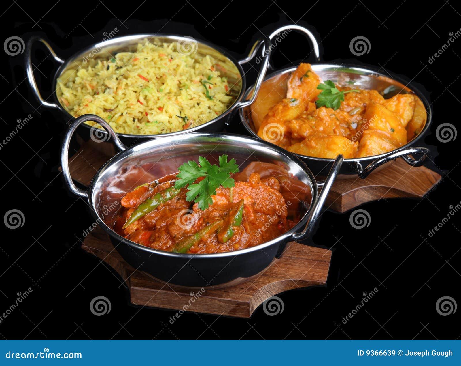 Curryindiermål