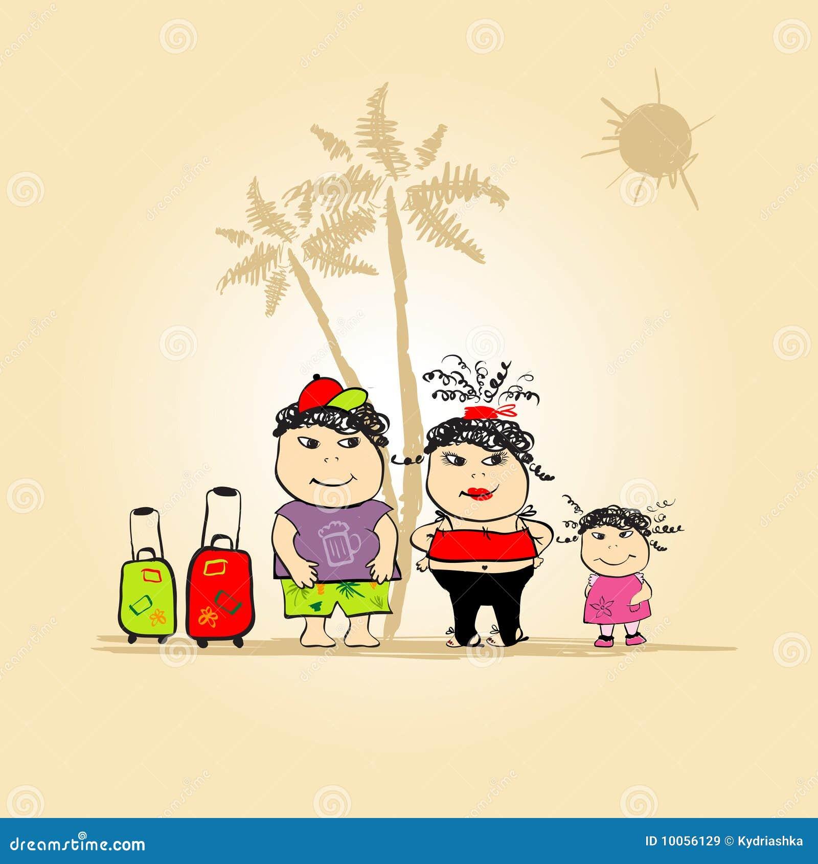 Curso da família, férias de verão