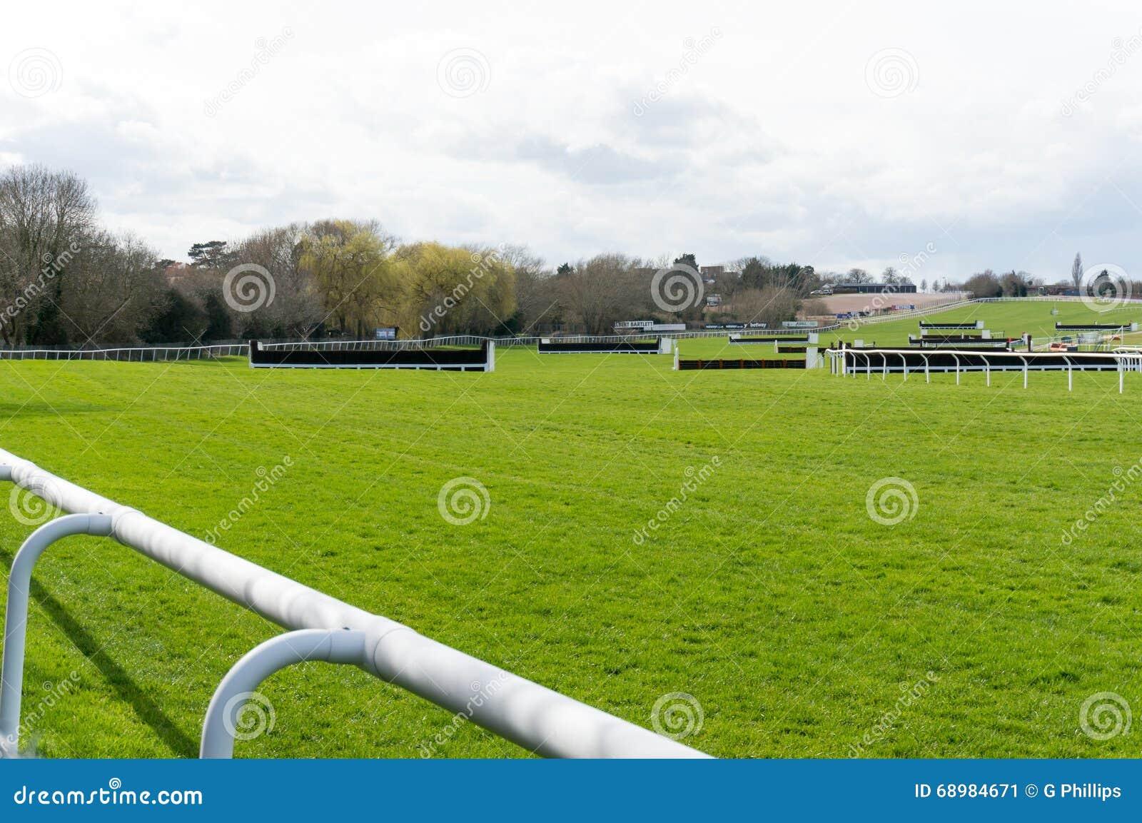Curso de la carrera de caballos