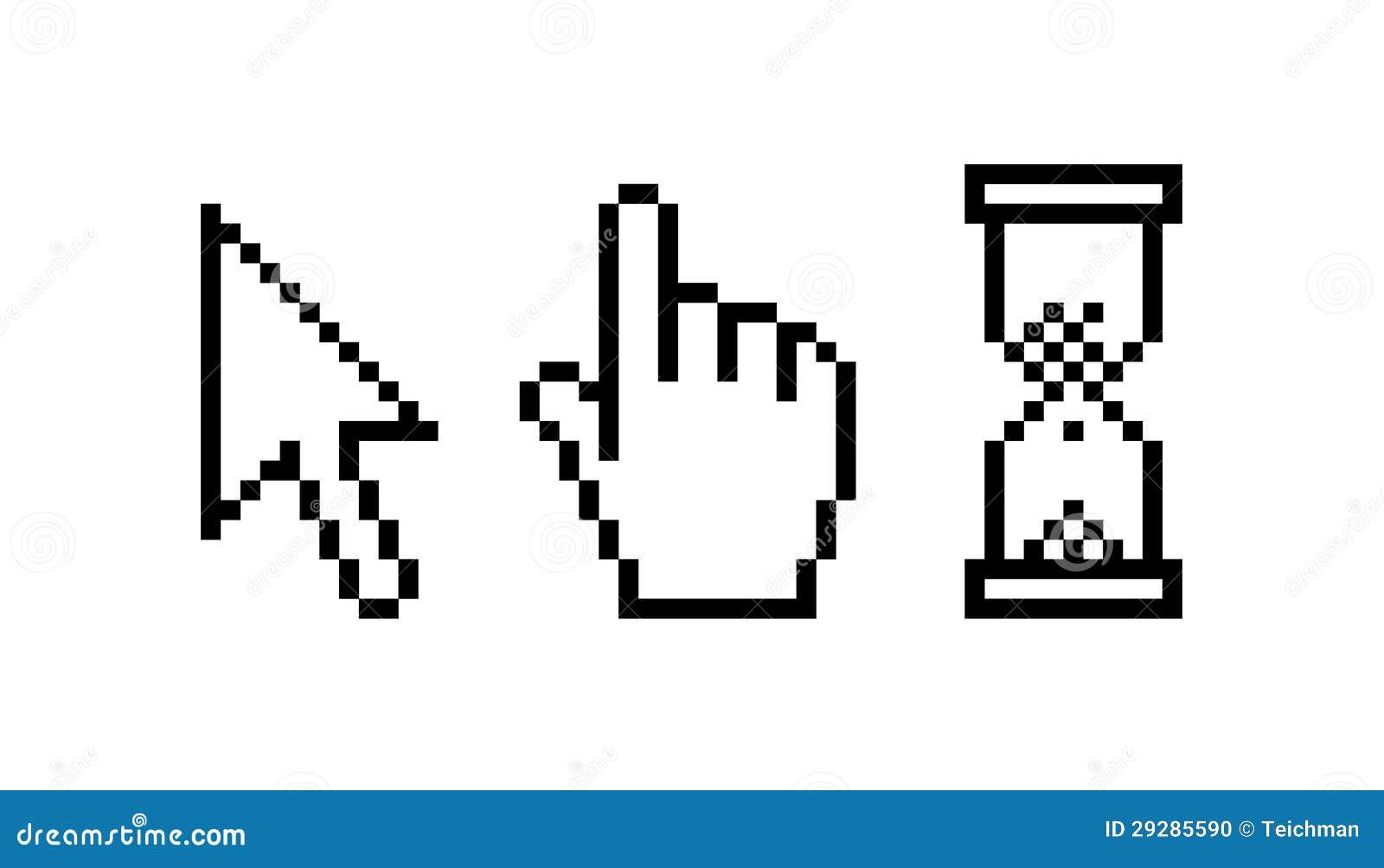 how to change windows cursor shape