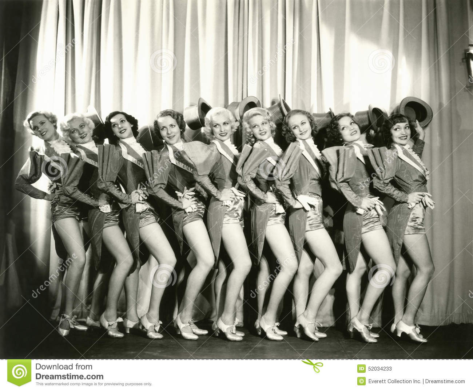 Curtain Call Stock Image. Image Of 1930s, Caucasian