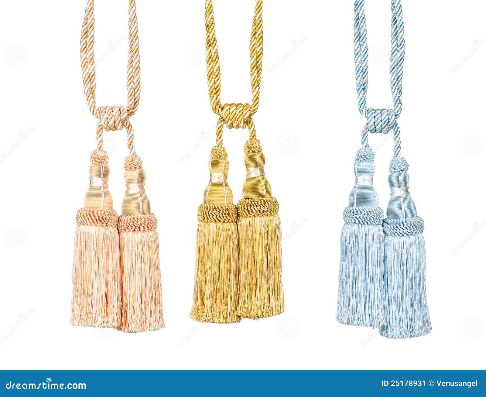 Curtain Tassels Stock Image Image Of Luxury Hanging