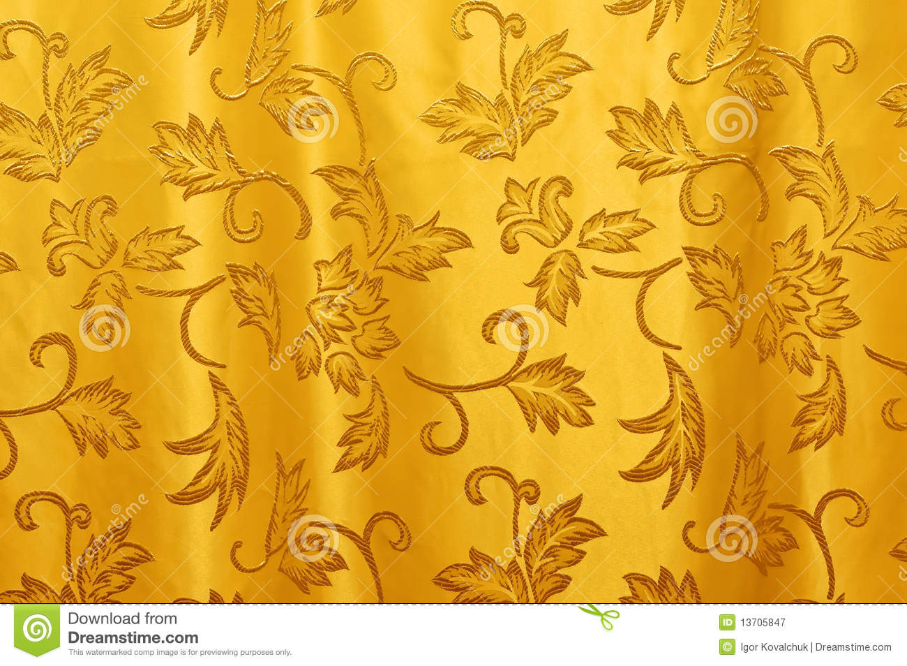 Curtain Texture Seamless perfect curtain texture golden yellow silky background inside