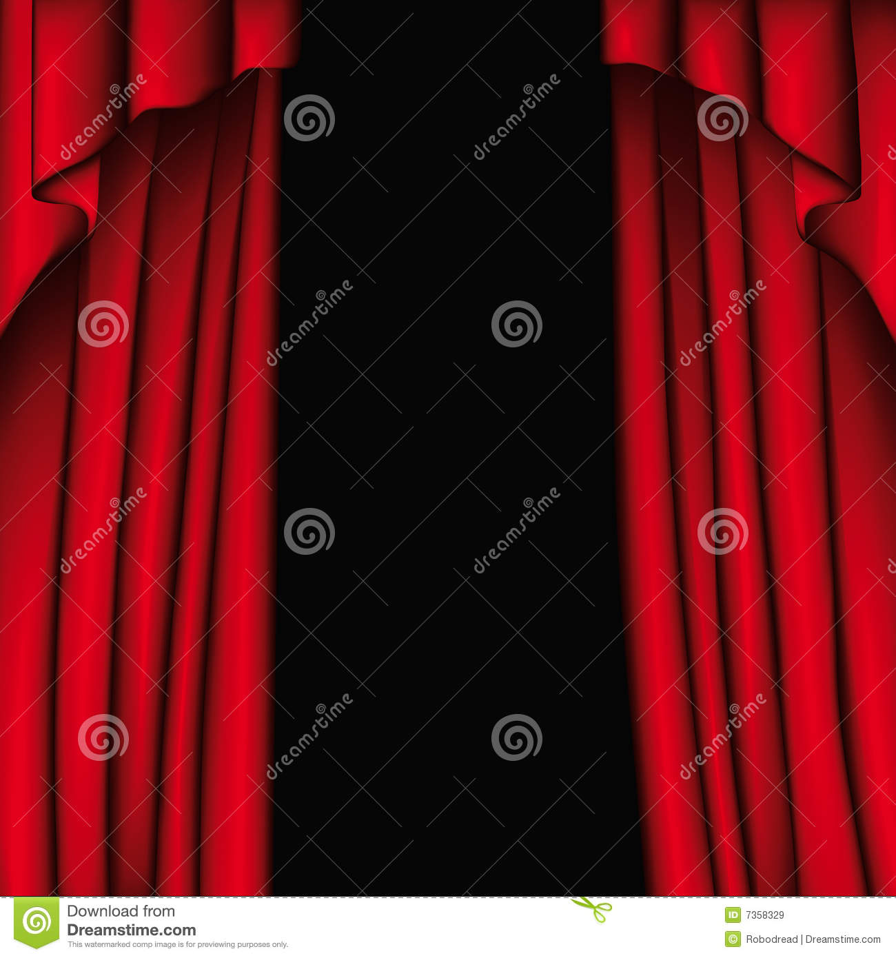 Blue stage curtains blue stage curtain vector free vector in - Background Curtain Illustration Vector