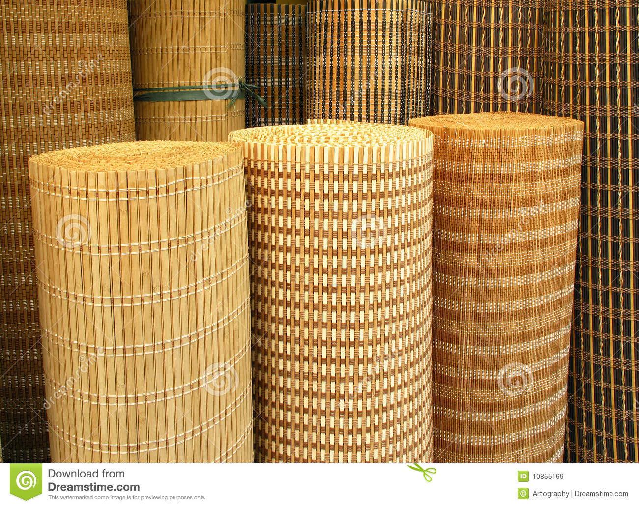 Curtains Stock Image Image Of Thread Curtain Straw