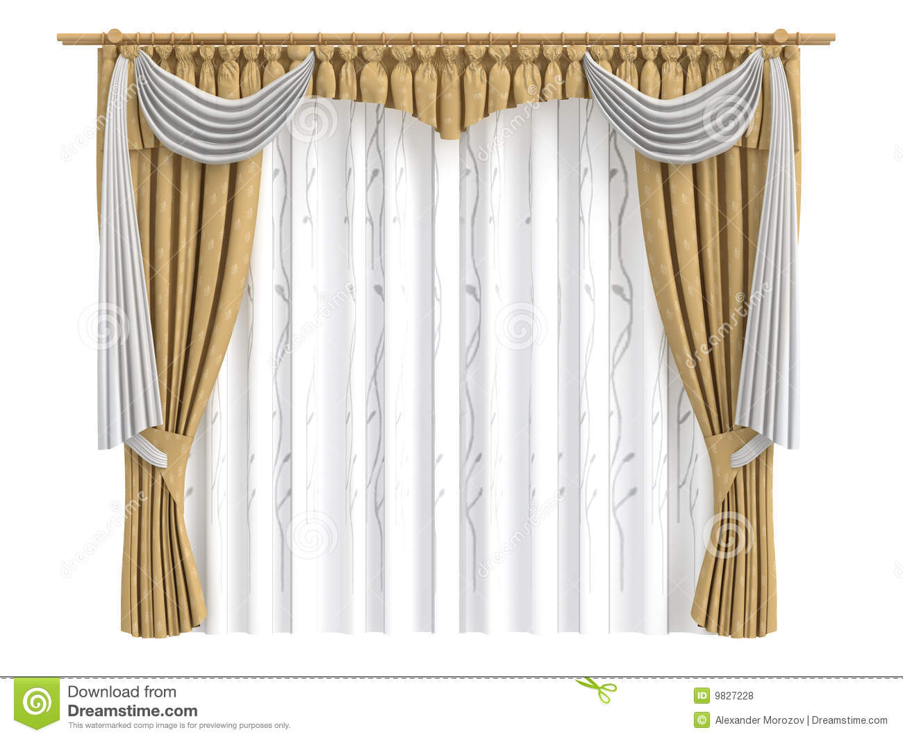 Curtains royalty free stock photos image 9827228 - Pictures of curtains ...