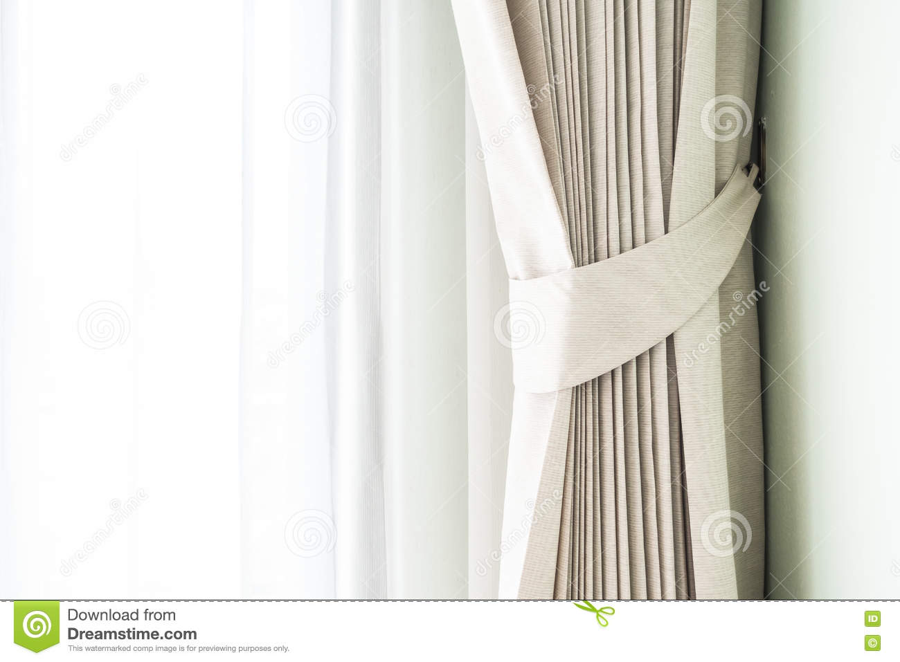 Curtains Stock Photo Image 71105152