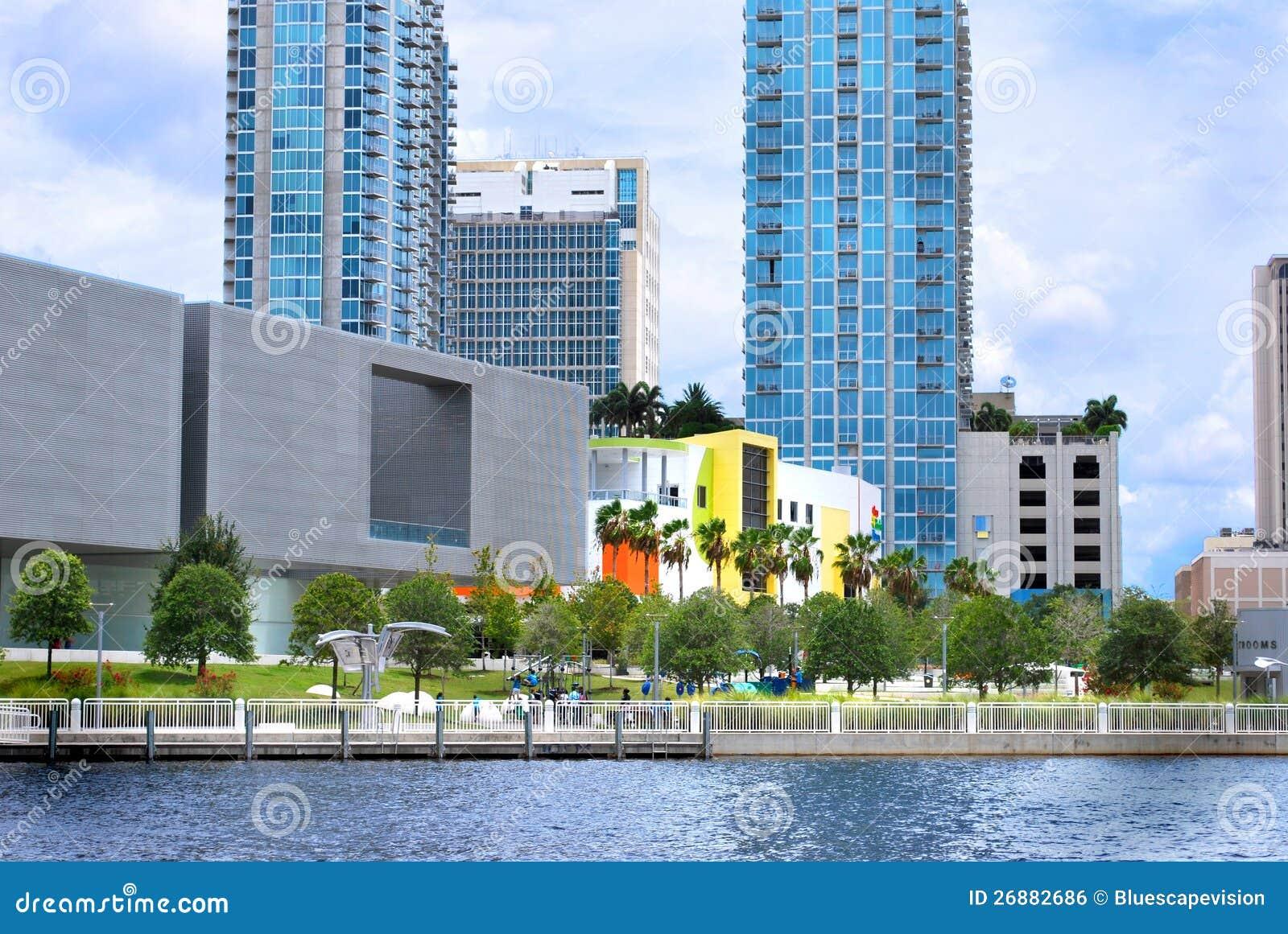 Curtis Hixon Park Downtown Tampa