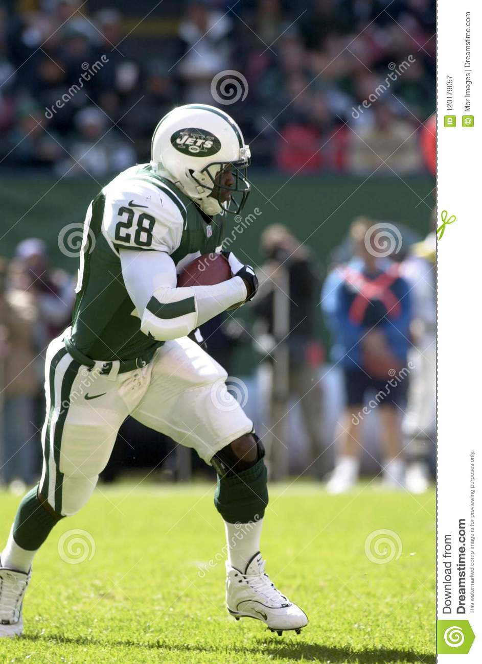 buy online fa666 8936d Curtis Martin New York Jets Editorial Photography - Image of ...