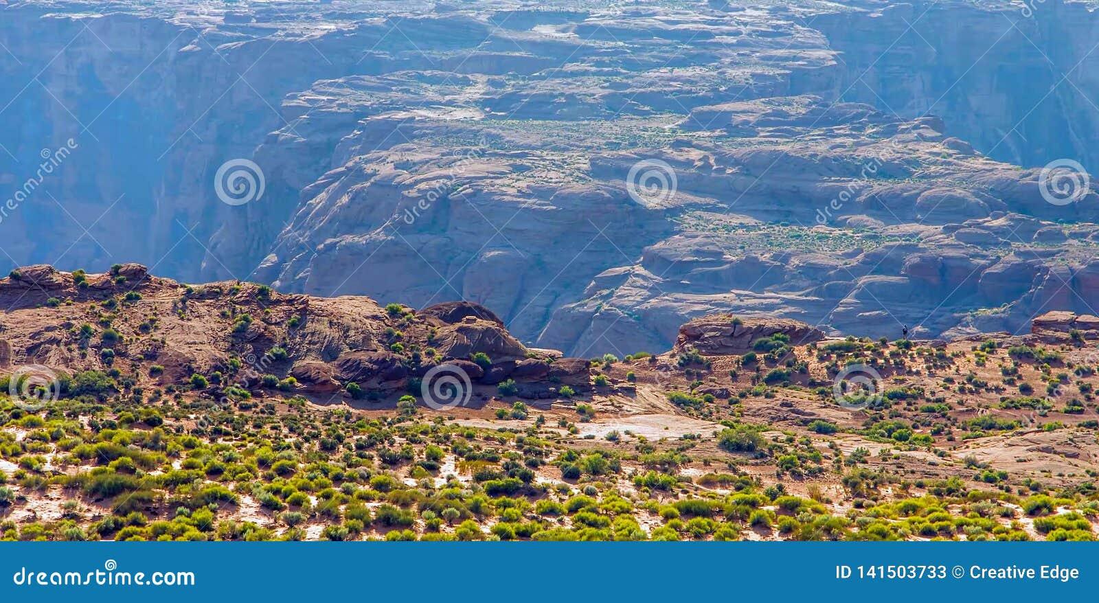 Curvatura a ferro di cavallo nel parco nazionale di Grand Canyon, Arizona, Stati Uniti d America