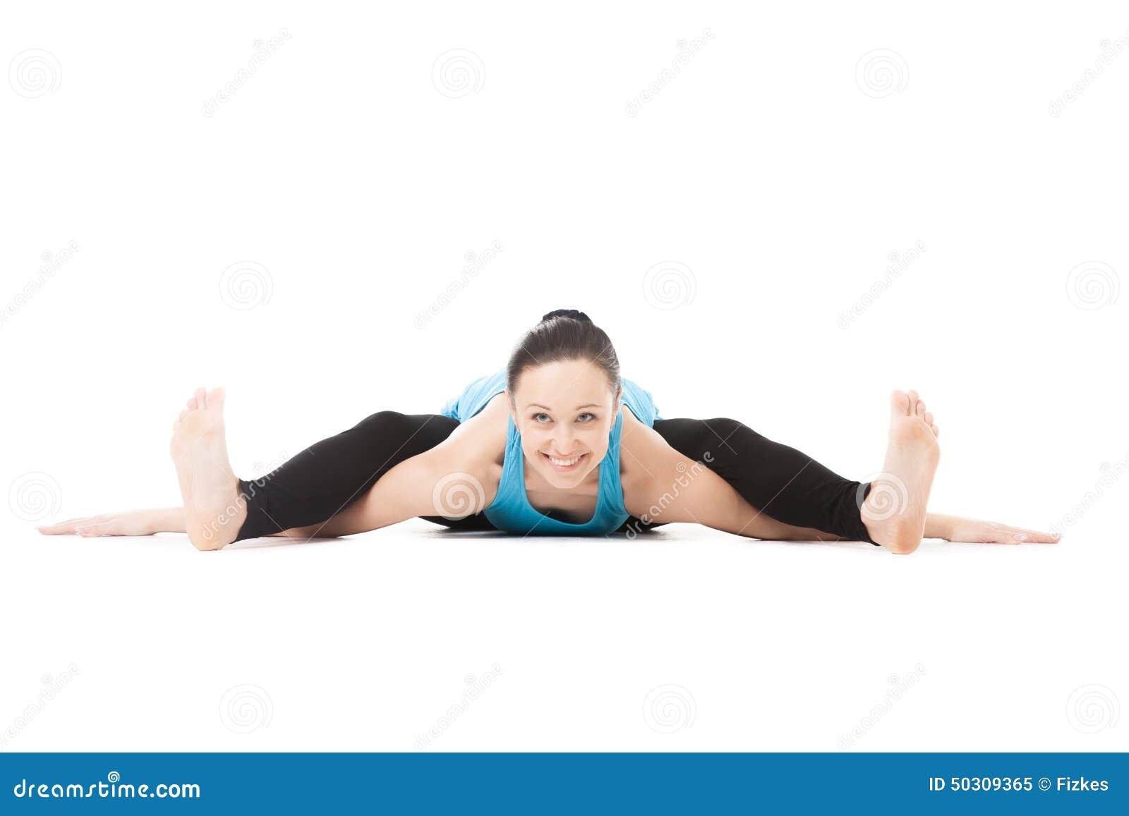 Yoga significati di alcune posizioni dello Hatha fisico Curvature-femminili-degli-yogi-avanti-nella-posa-della-tartaruga-di-asana-di-yoga-50309365