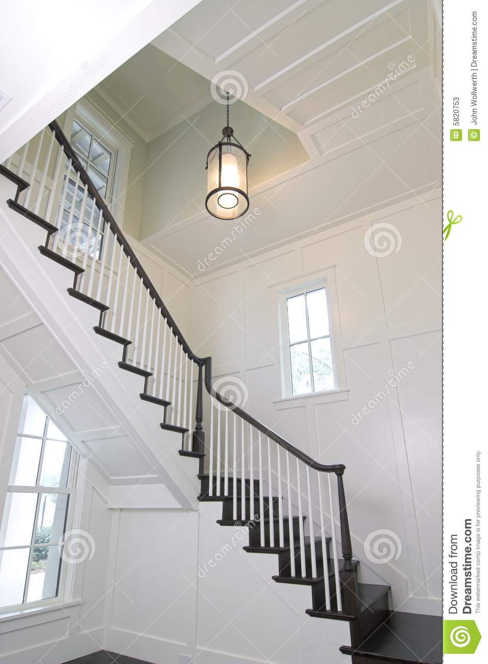 Curved staircase stock photos image 5820753 for Curved staircase