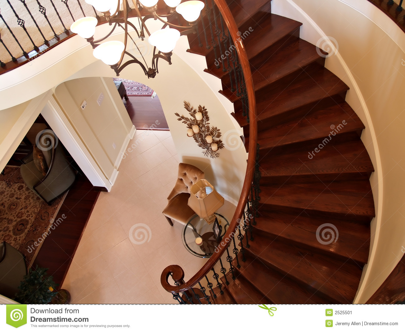 Curving Stairs