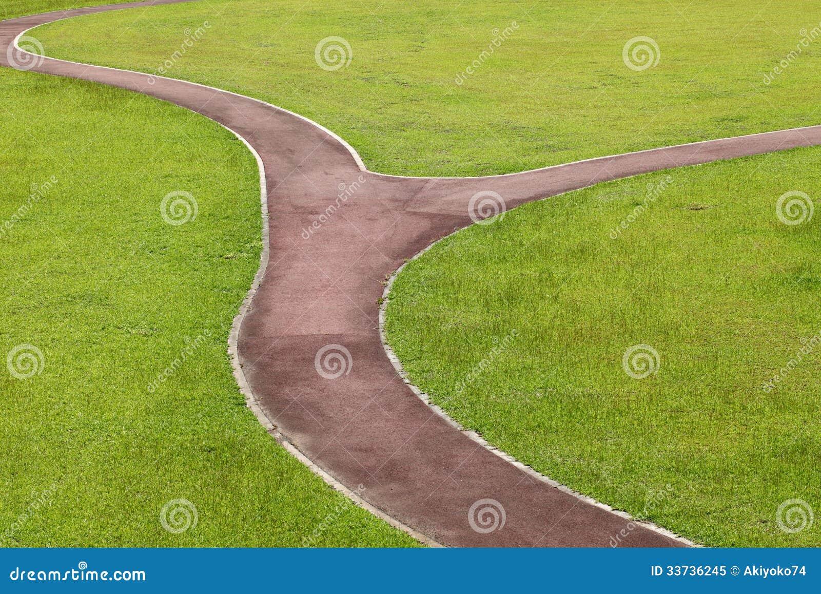 Curvy путь прогулки