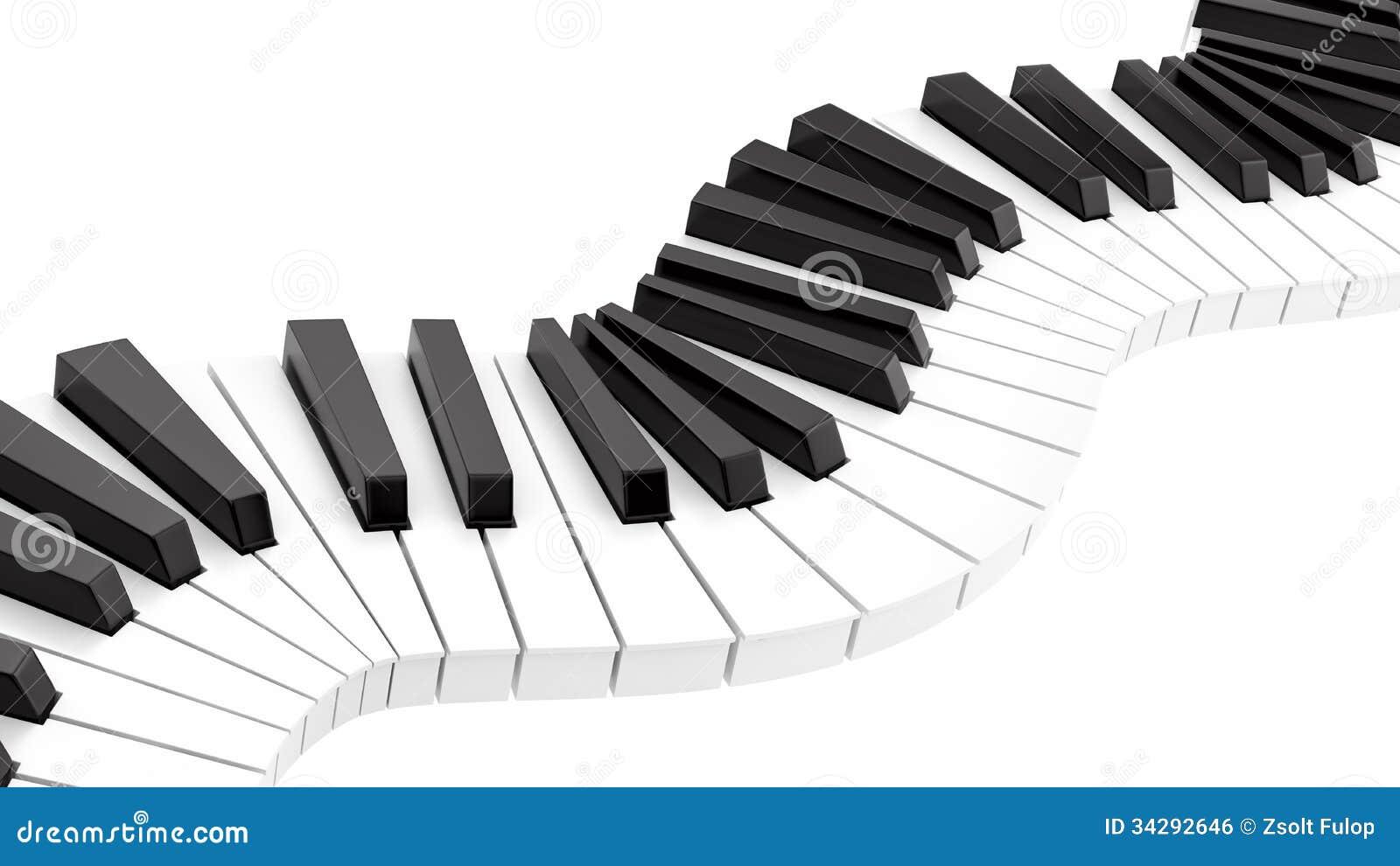 Curvy Klaviertastatur