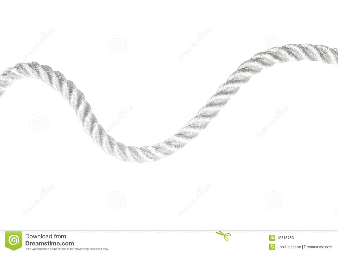 rope line vector