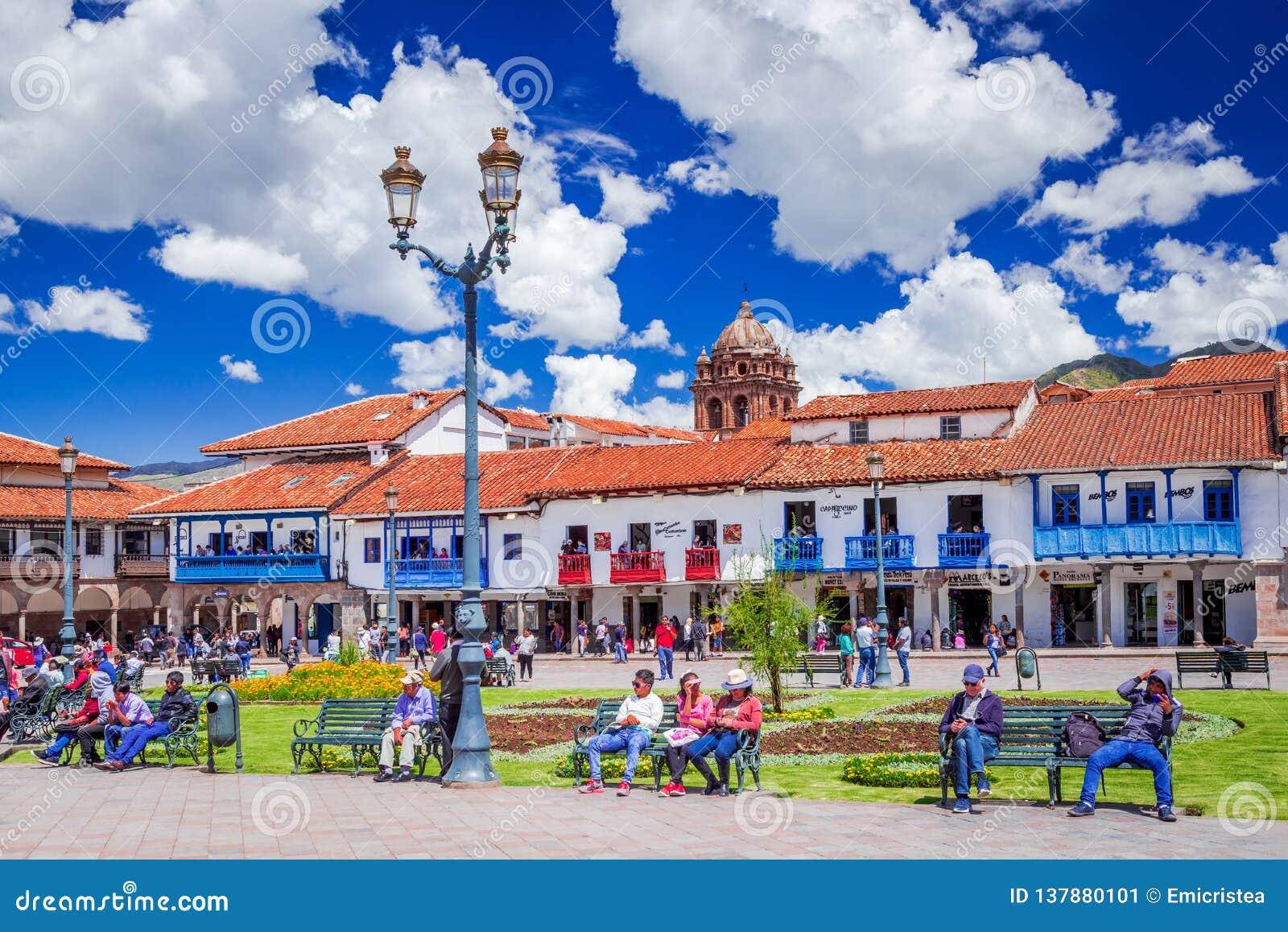 Cusco Peru - Plaza de Armas