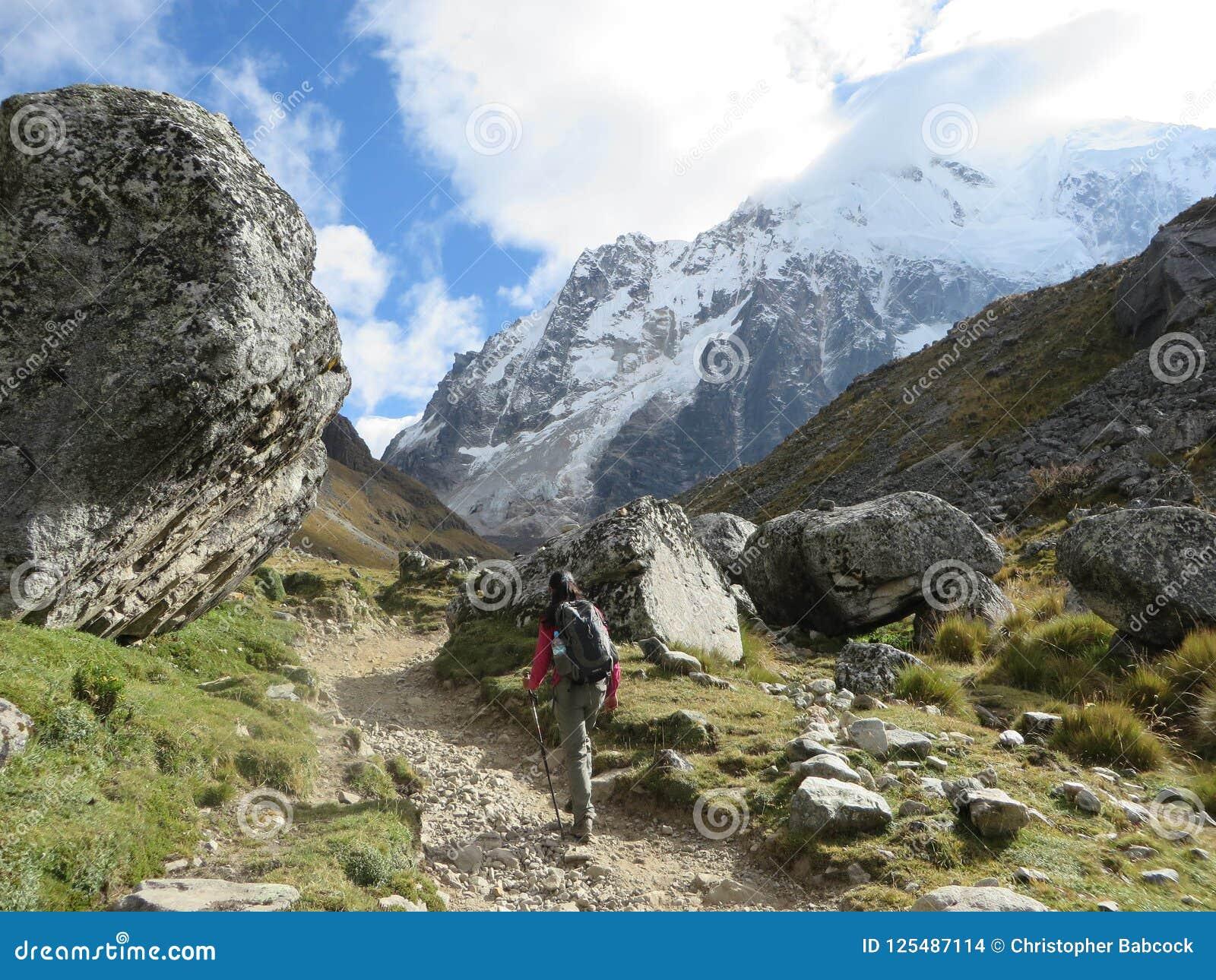 Cuscoprovincie, Peru - mag achtste, 2016: Een jonge groep internati