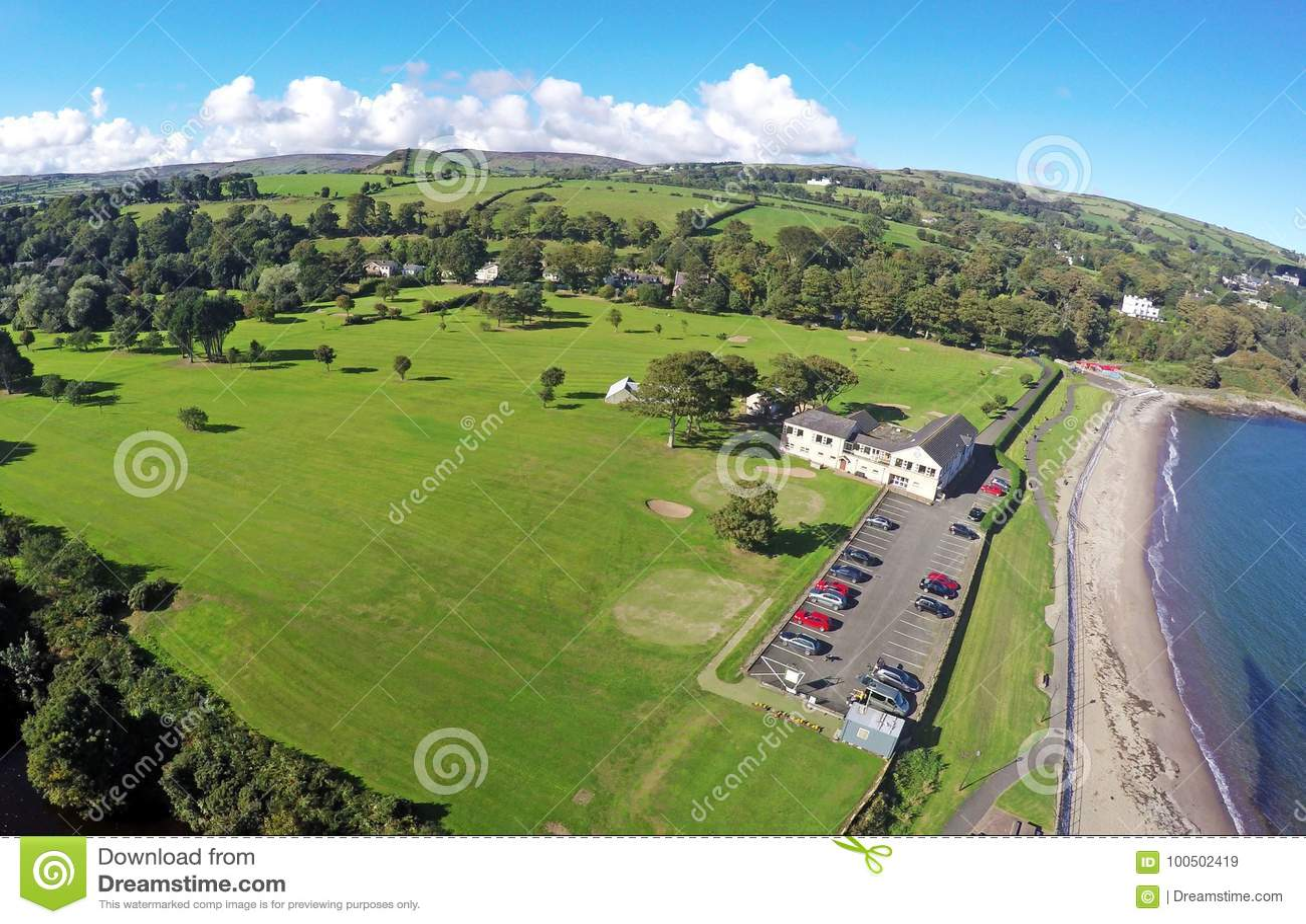 Cushendall Co Antrim Nordirland Irland