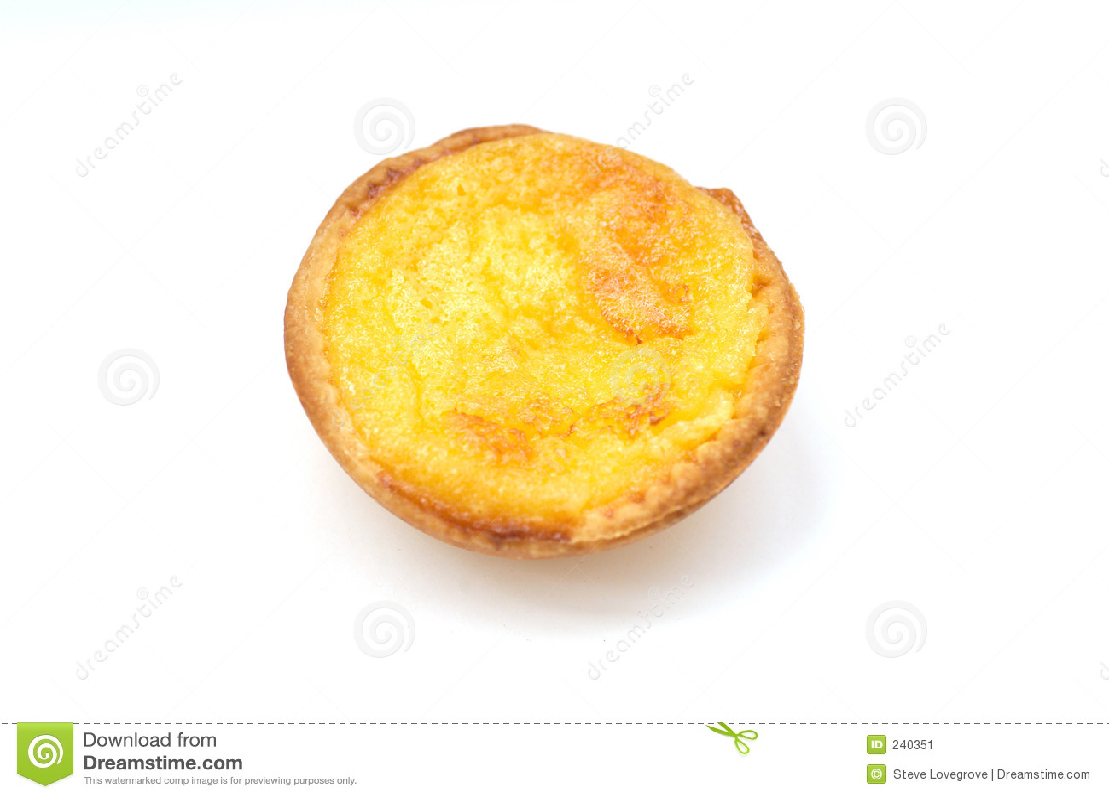 Custard de natas πορτογαλικός ξινός pasteis