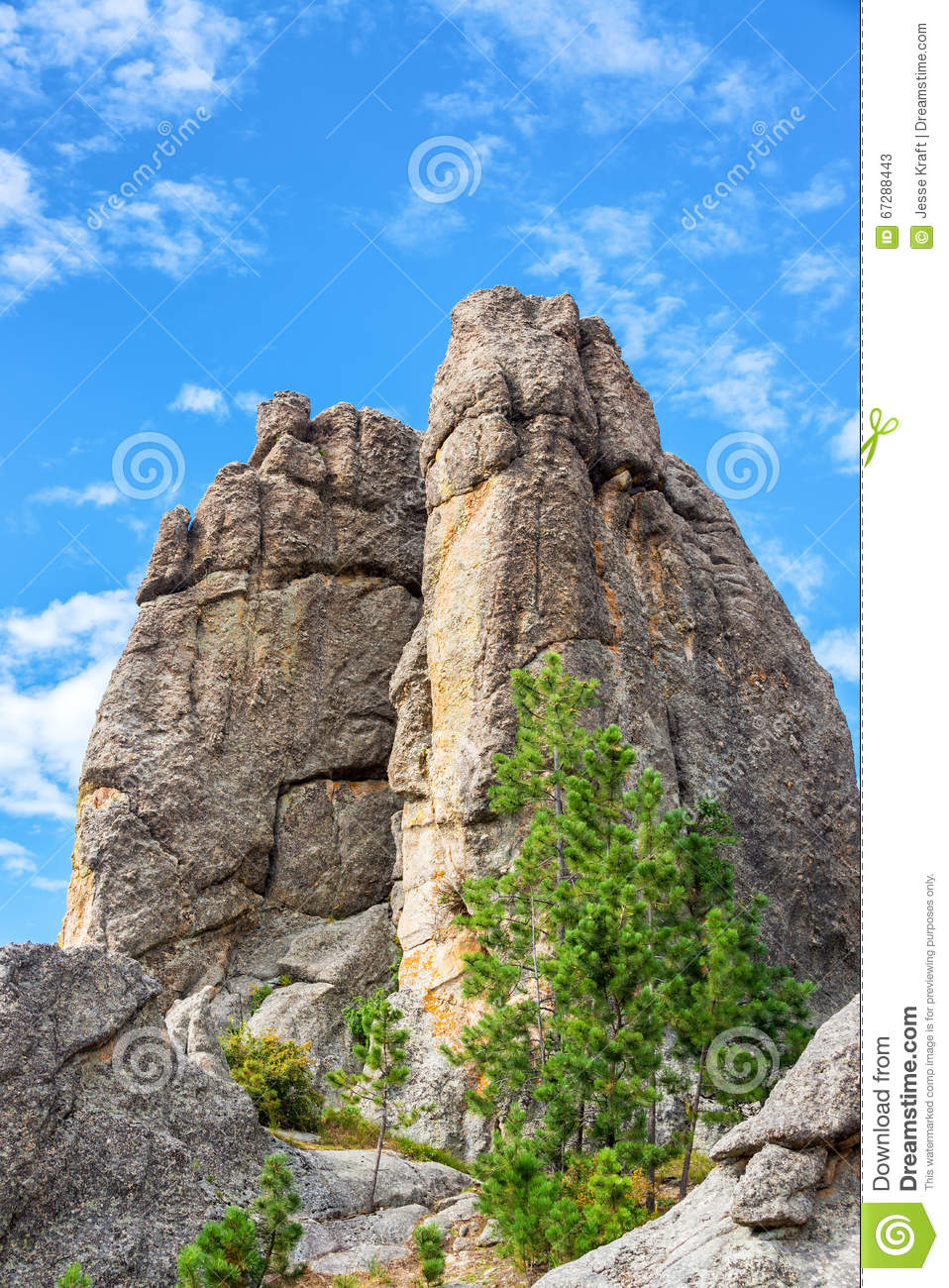 Custer State Park Rock Formation
