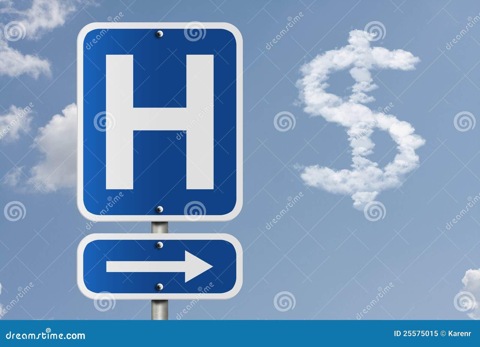 Custo de ir ao hospital