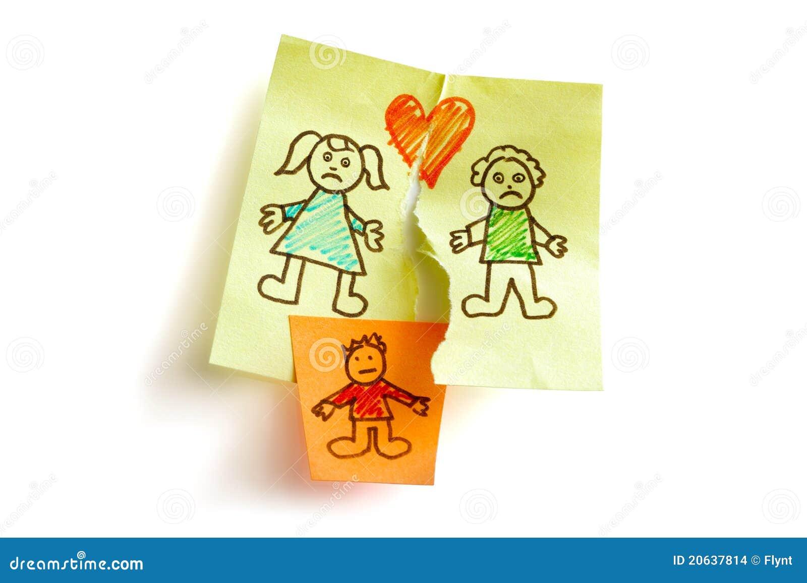 Custodia del divorcio y de niño