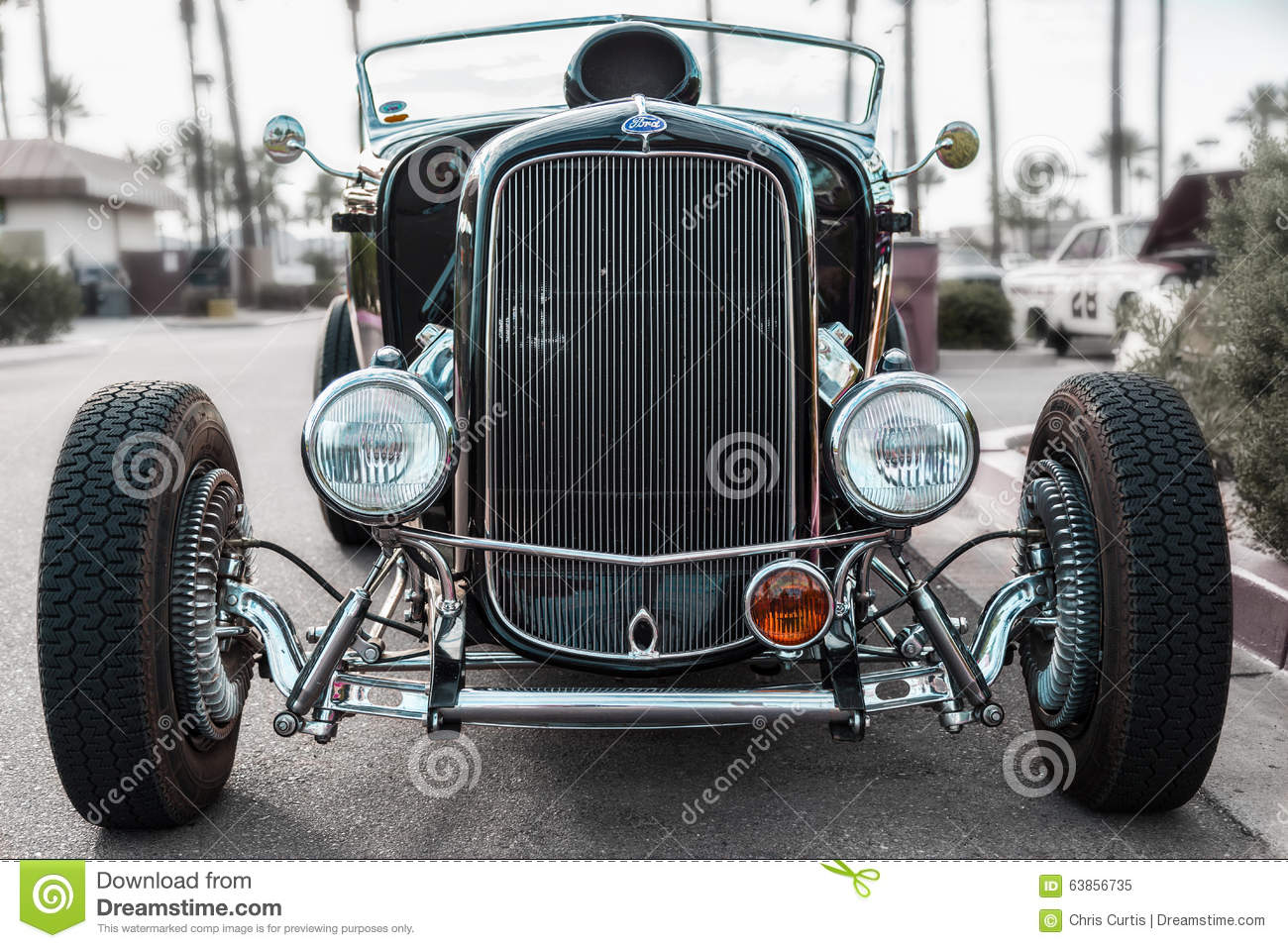 Custom Built Hot Rod At Show Editorial Image Image Of Automobile - Scottsdale classic car show