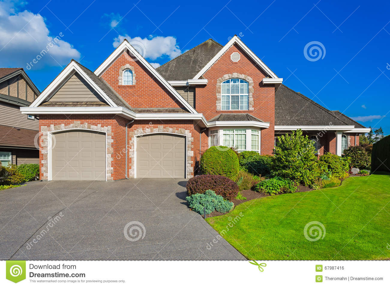 Custom built house stock photo image 67987416 Custom build a house online