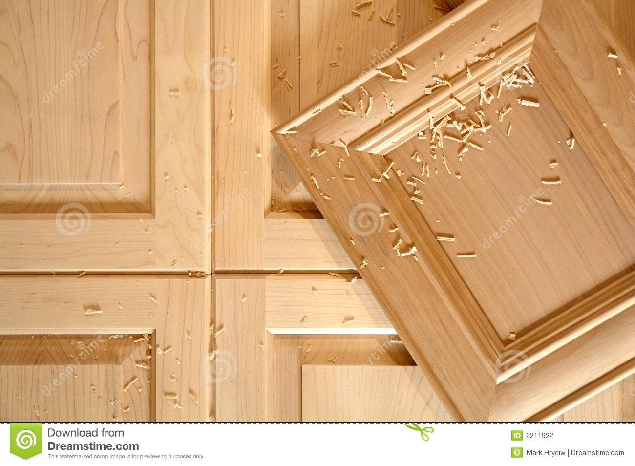 Custom Cabinet Doors Stock Photo Image Of Furniture