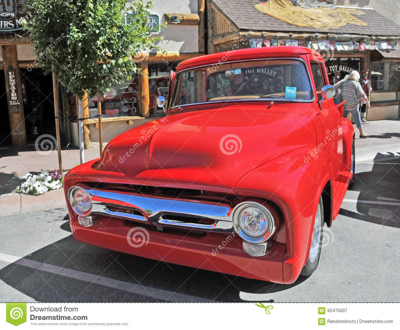 Automotive Paint Fire Engine Red