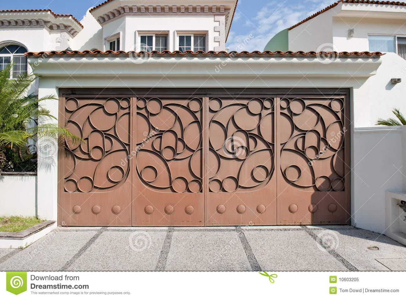 957 #375F94 Custom Garage Door Royalty Free Stock Photo Image: 10603205 wallpaper Custom Garage Doors 38351300