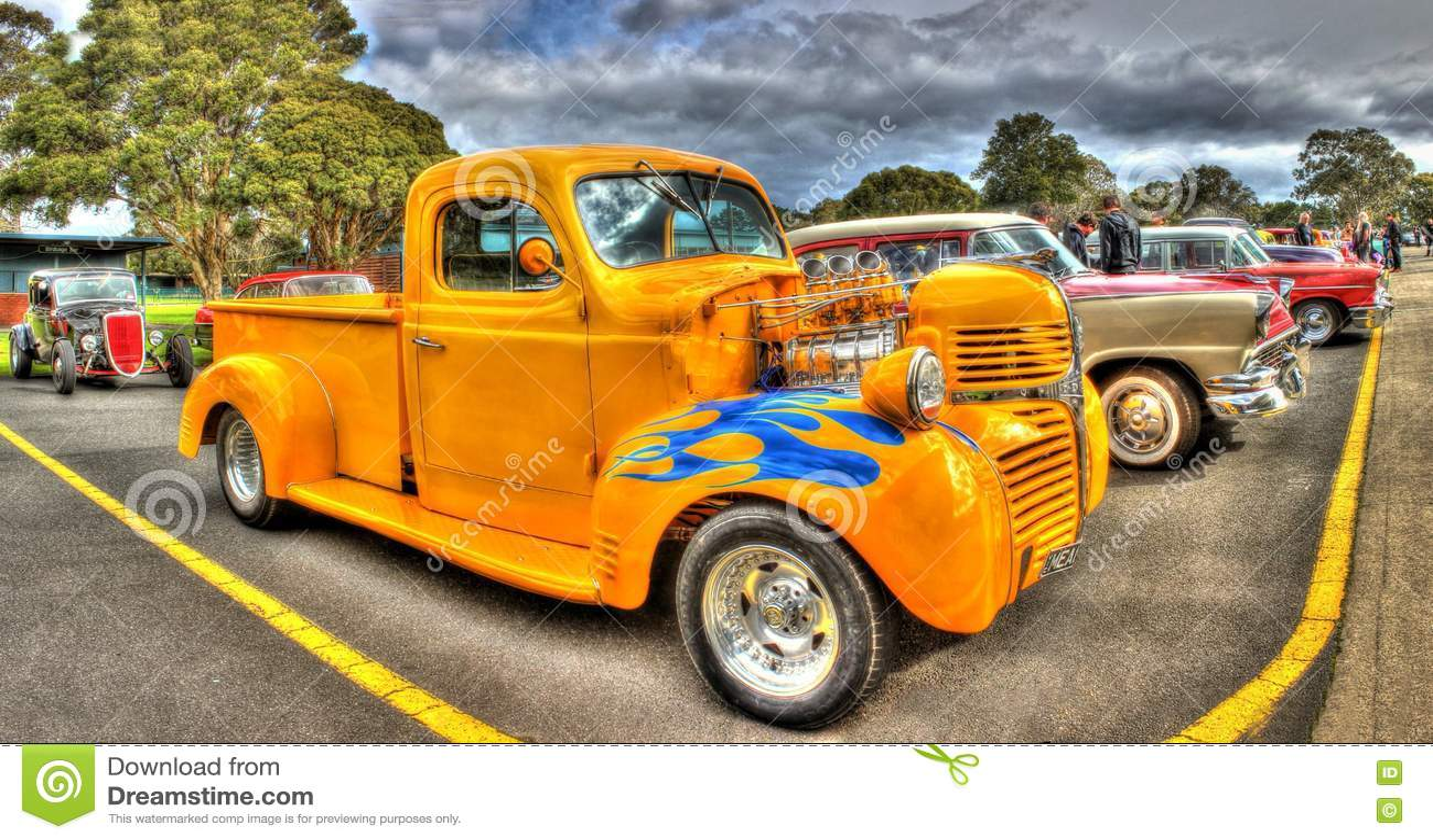 Custom 1940s Dodge Pick Up Truck Hot Rod Editorial Photo Image Of Classic Chrysler 75886136