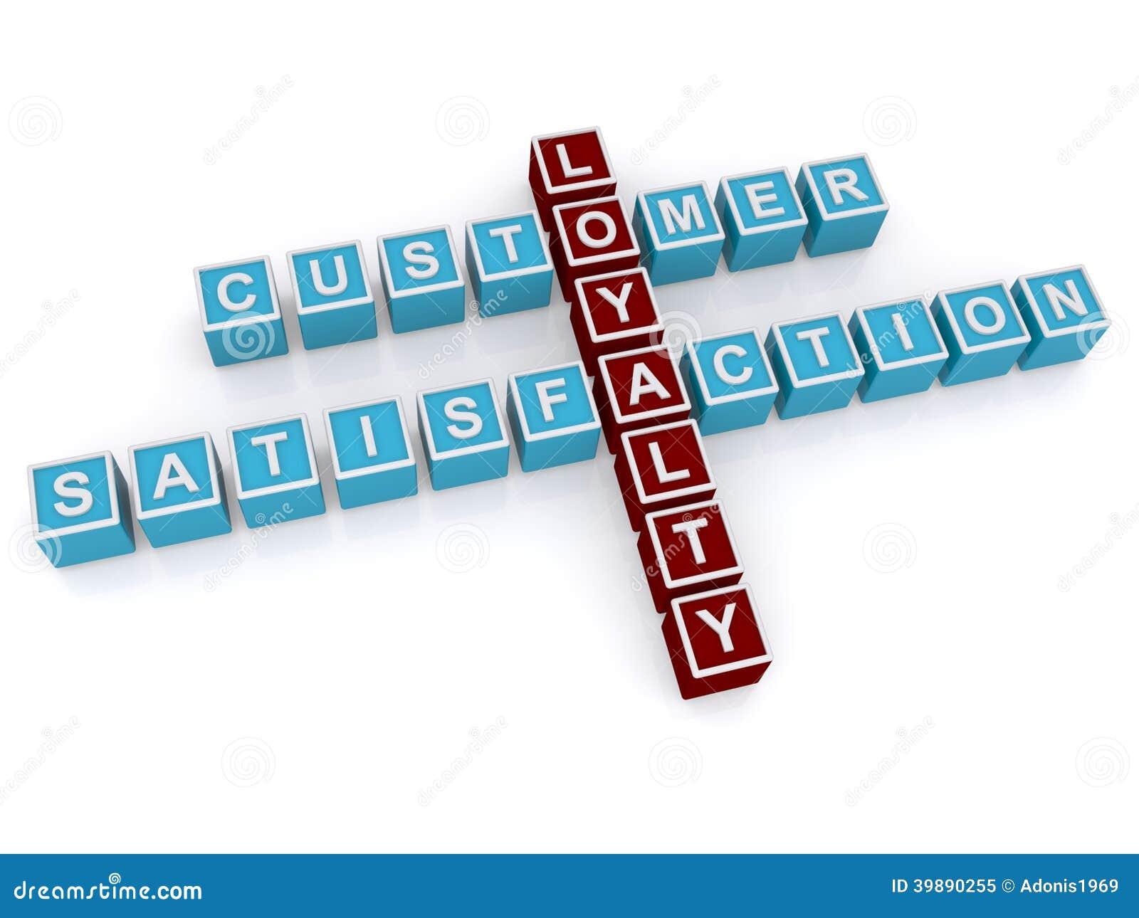 Customer Loyalty And Satisfaction Stock Illustration