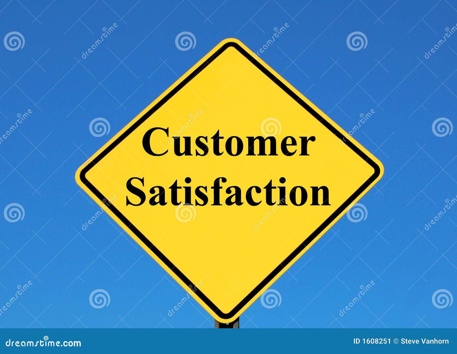 Customer Satisfaction Stock Image - Image: 1608251