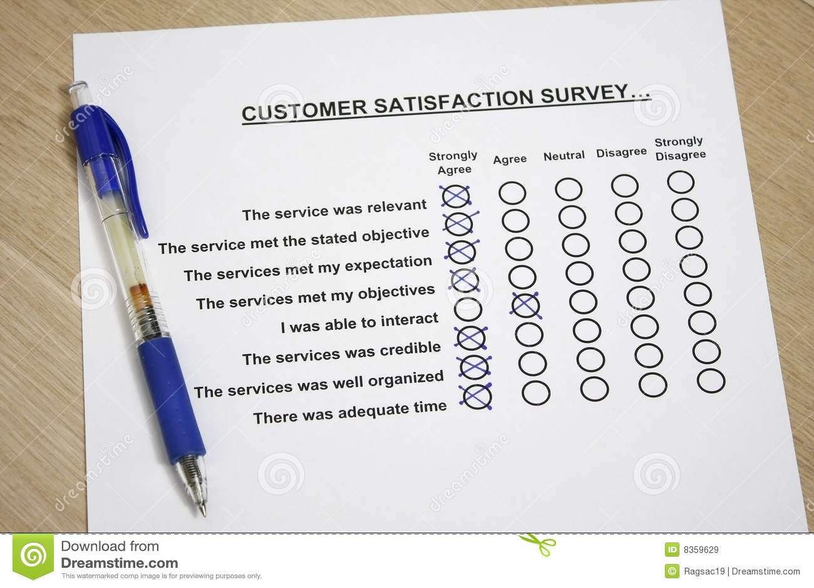 Customer Satisfaction Survey Royalty Free Stock Images - Image ...