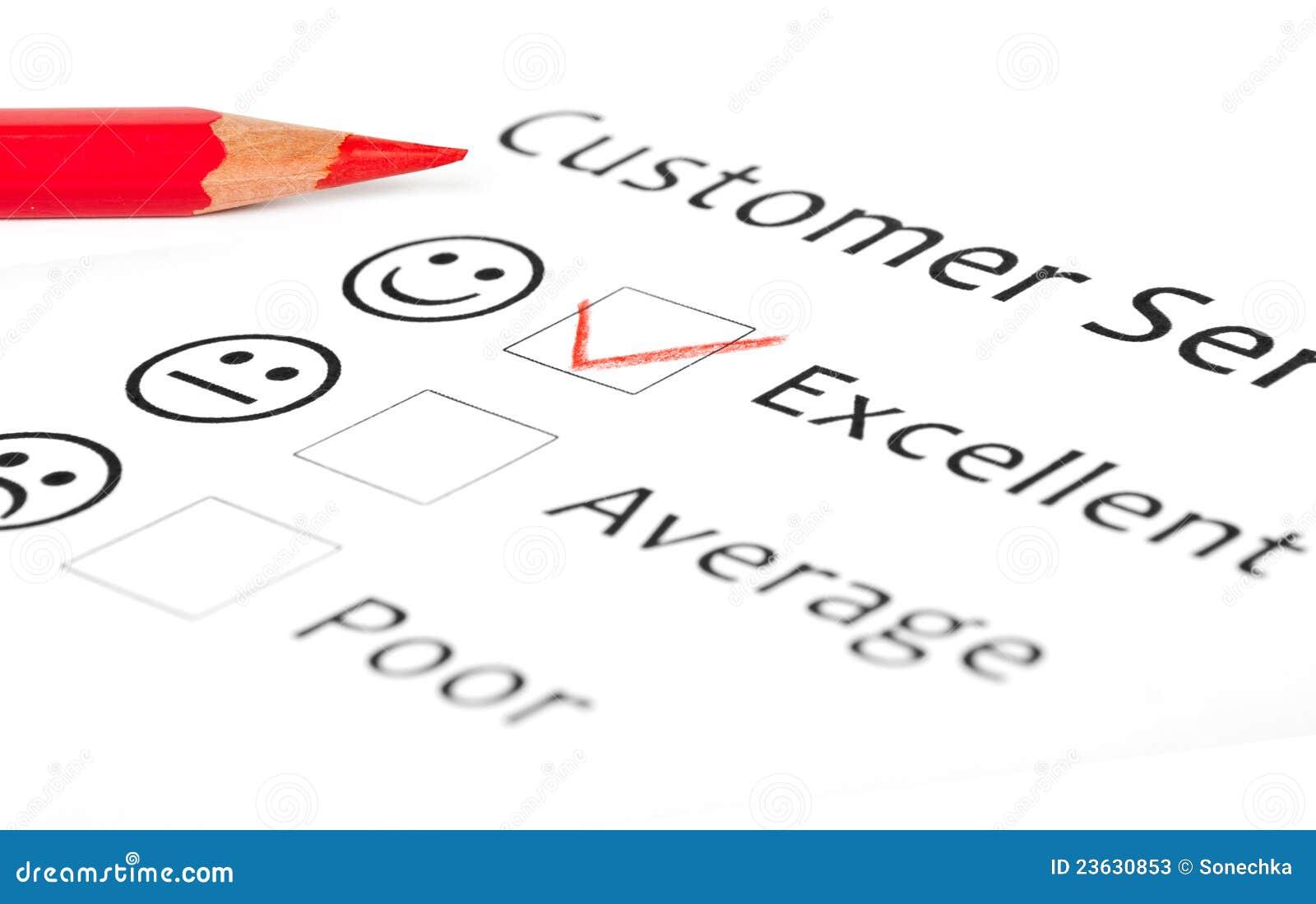 Customer Satisfaction Survey Form