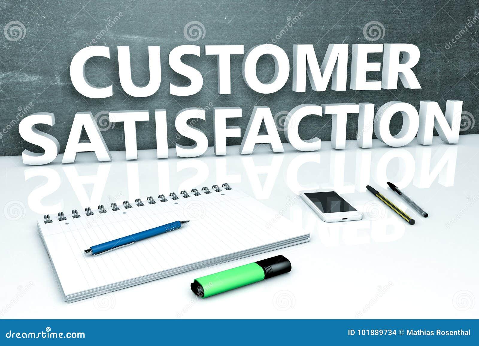 concept of customer satisfaction