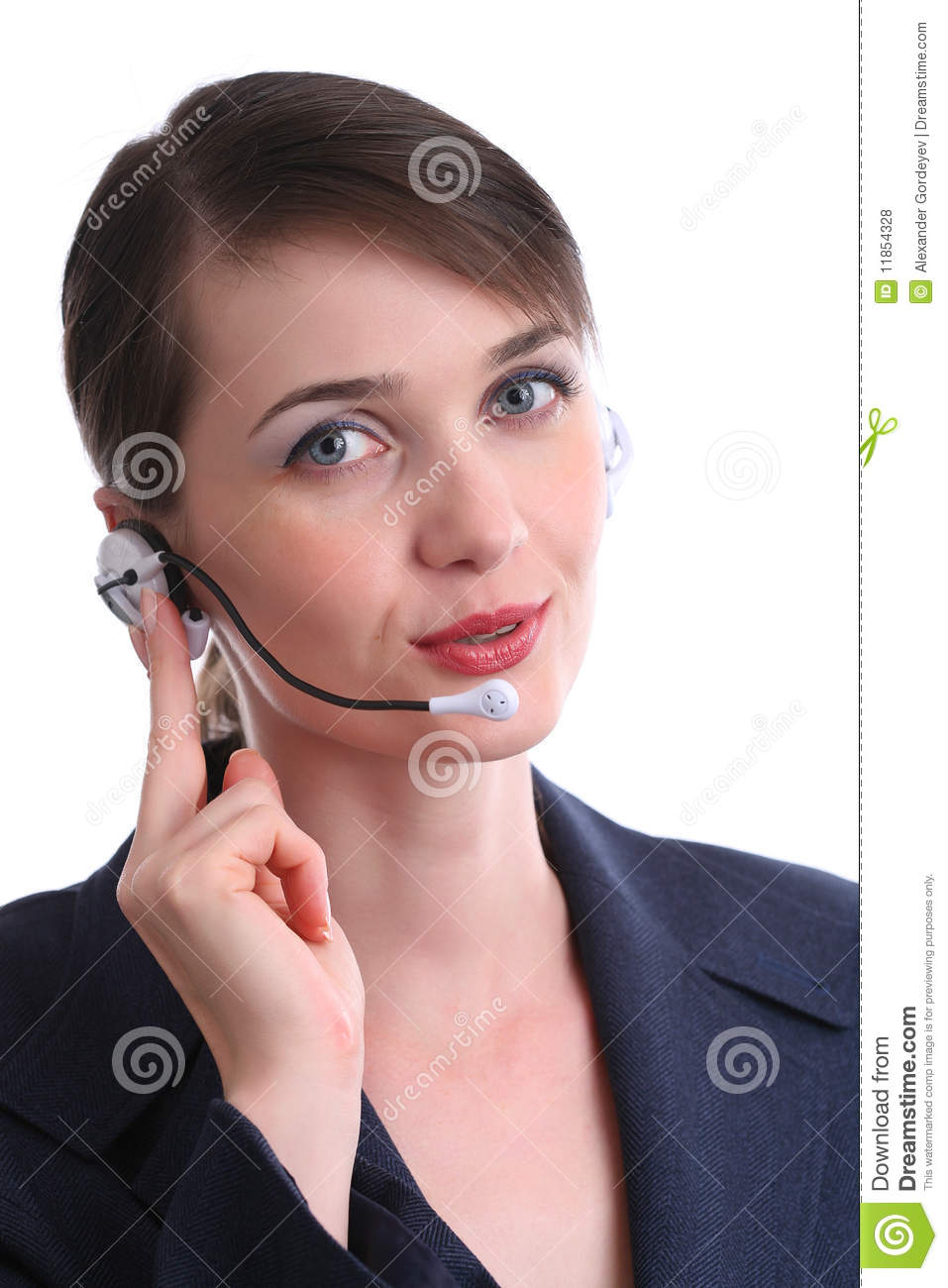 Customer Service Agent Stock Photo  Image Of Assistance