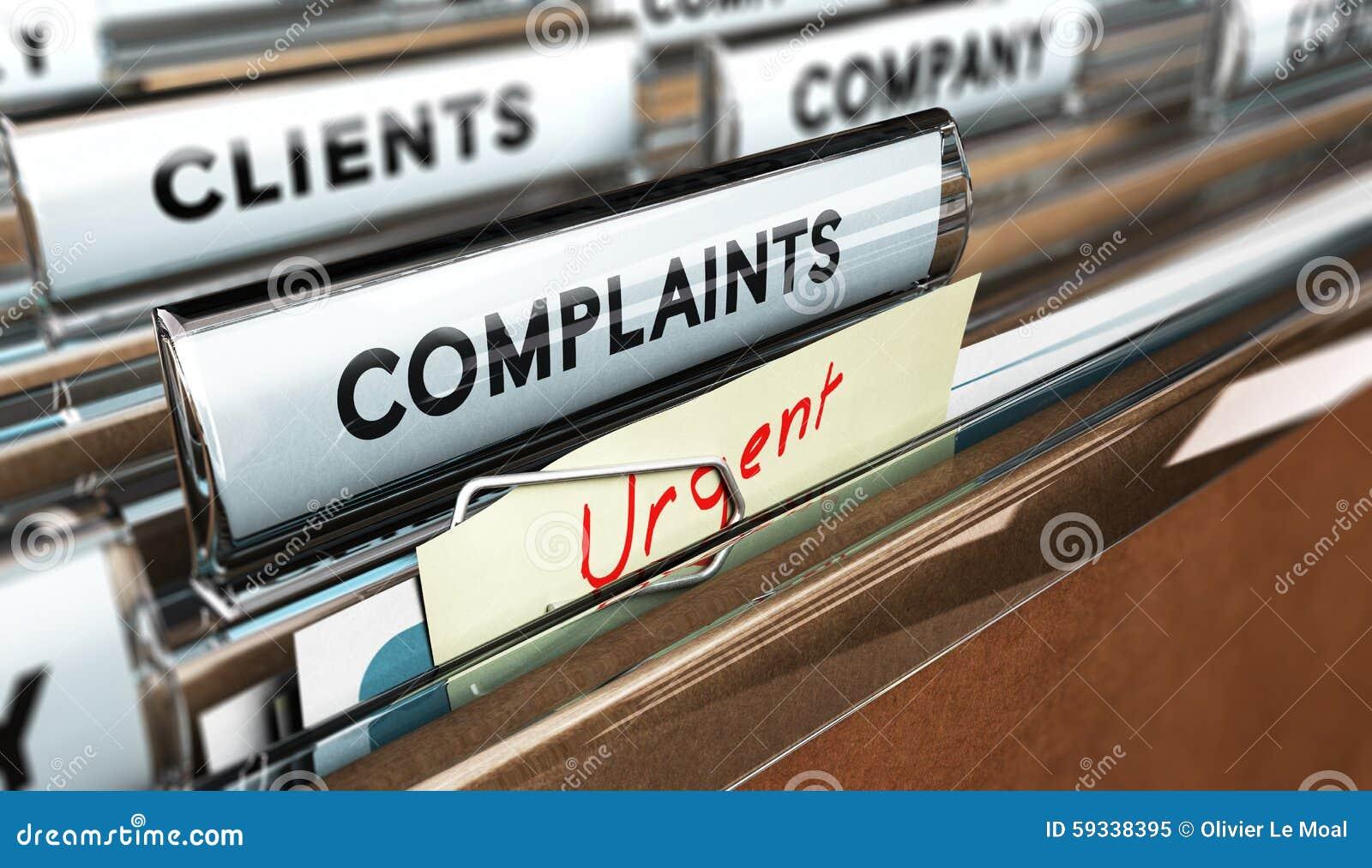 Customer Service Complaint Stock Illustration Image