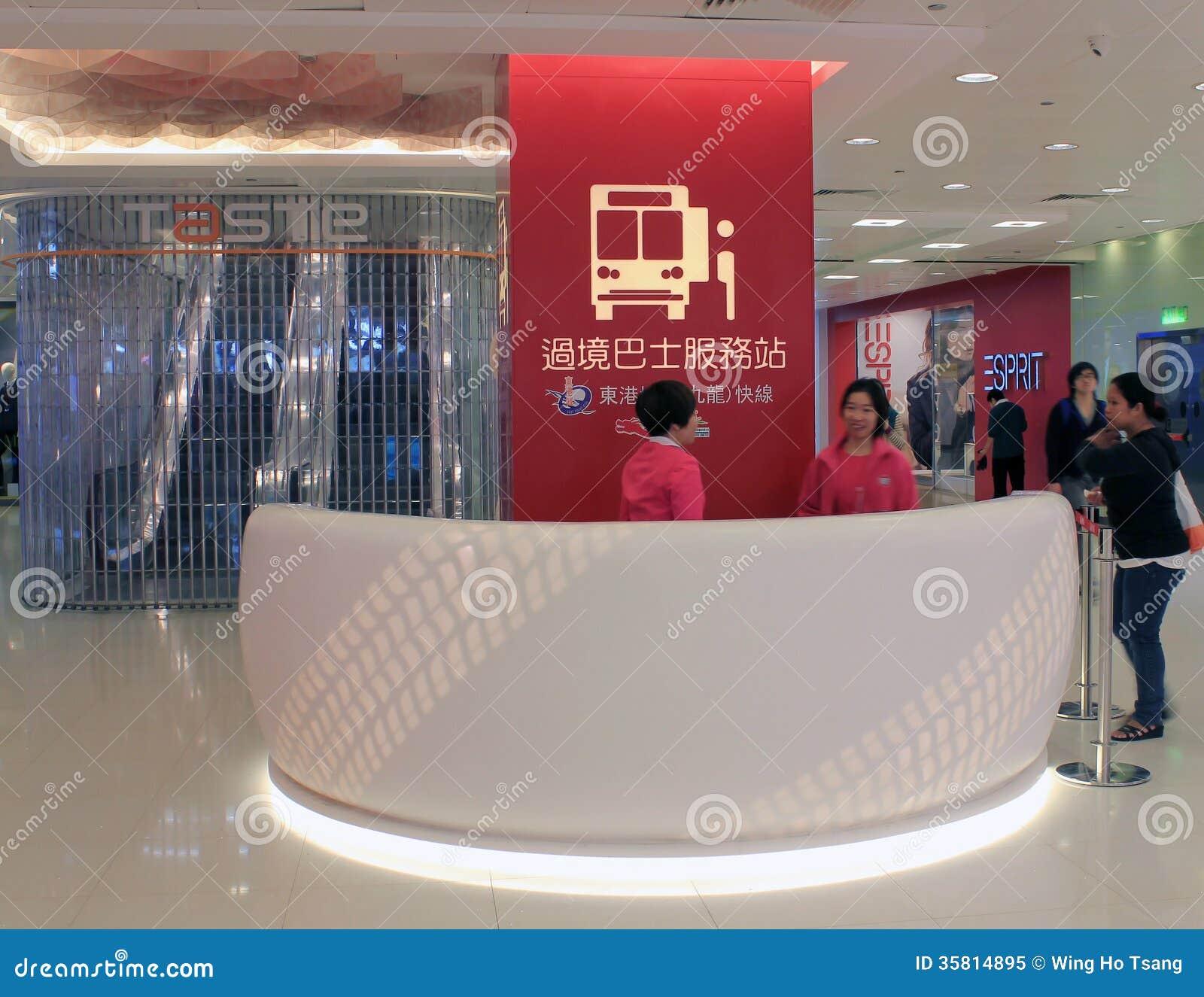 customer counter