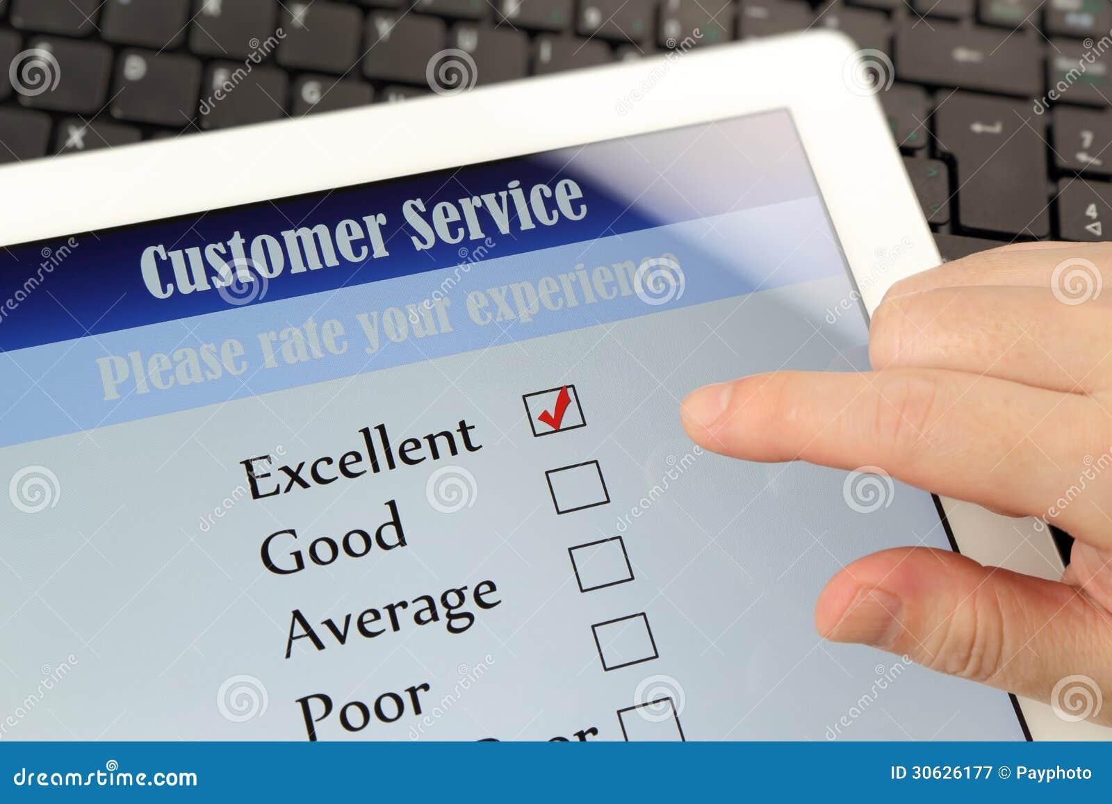 Customer Service Online Survey Royalty Free Stock ...