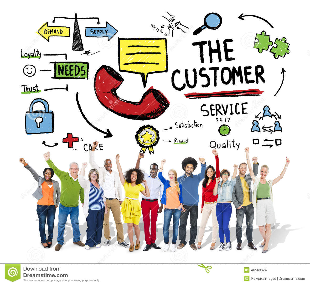 customer concept in marketing Definition of customer concept: a marketing idea focused on satisfying client needs over those of the business that produces the goods and services they consume.
