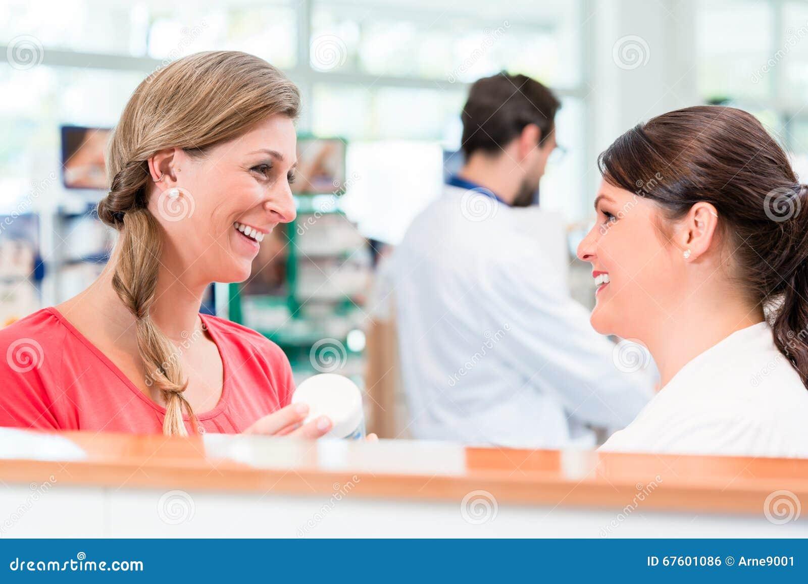 customer shopping in pharmacy or drug store stock photo image customer shopping in pharmacy or drug store