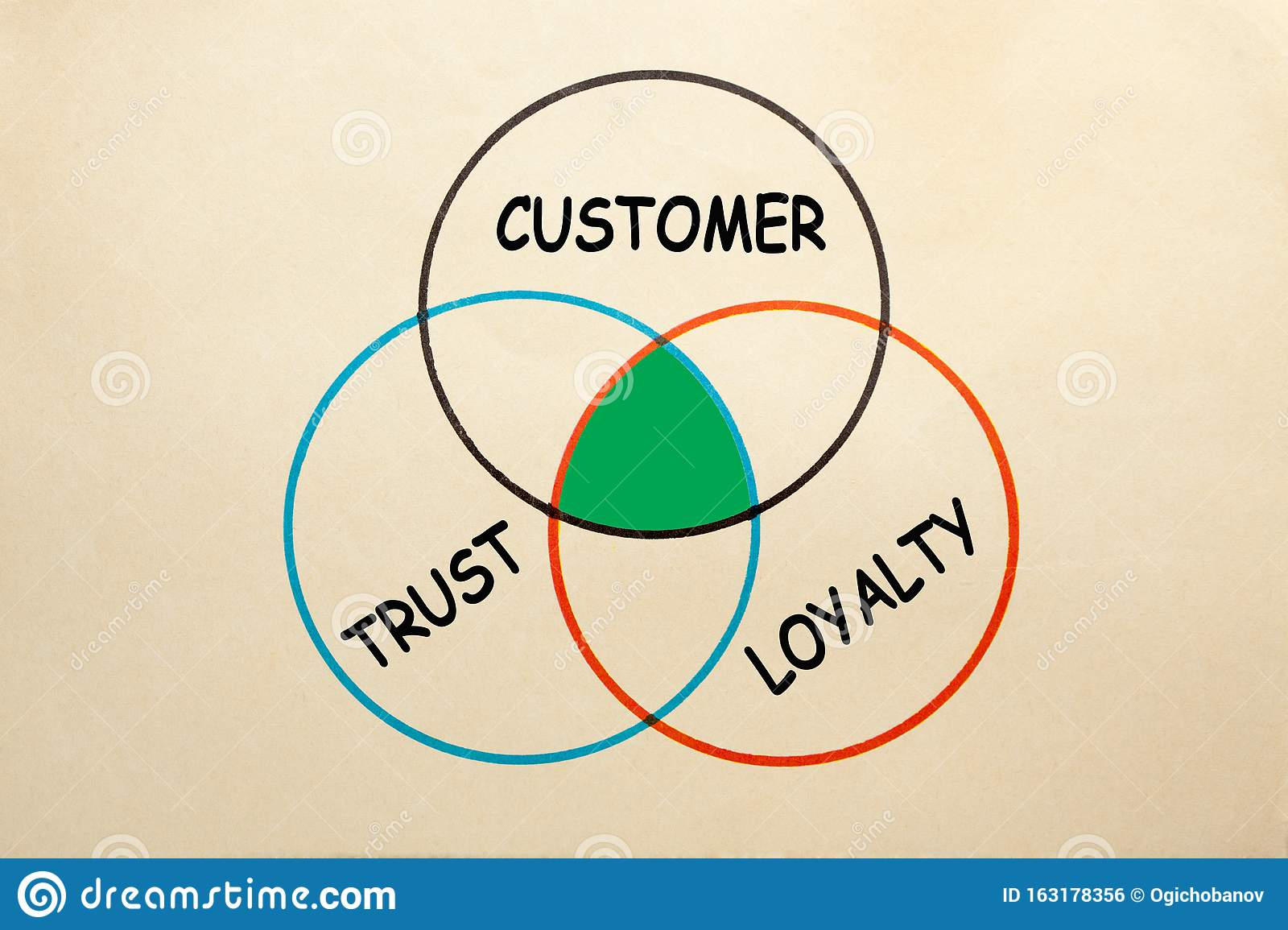 Customer Trust Loyalty Stock Photo  Image Of Purchaser