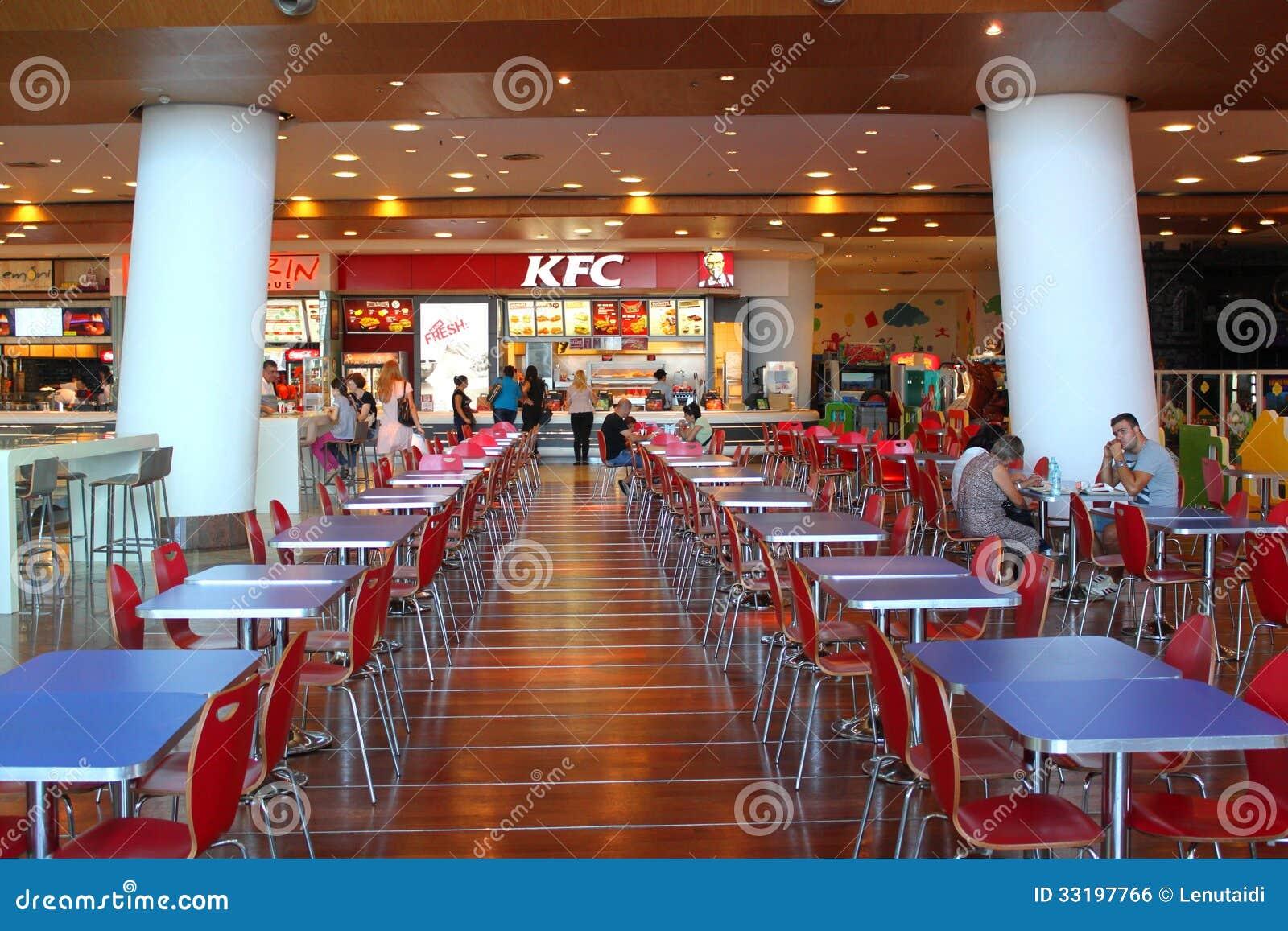 Customers Buying Fast Food At Kfc Editorial Photo Image